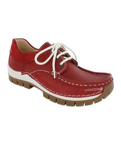 473c64502be Wolky Alarm Red Fly Leather Sneaker