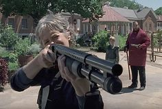 """Carol (Melissa McBride) is going to see Ezekiel and that's that. 