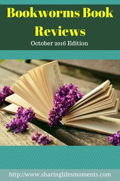 The October '16 Edition of the Bookworms Book Reviews includes romance, marriage, suspense, & blogging.Which will be on your to-read list?  via @SLM016