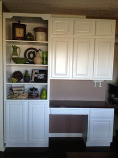 Kitchen desk office area