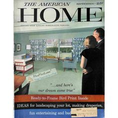 Cover Print of American Home, September 1957 | $6.60