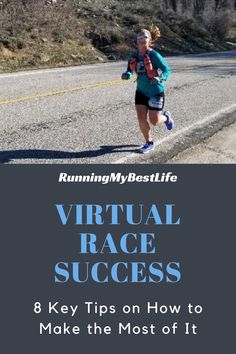 Virtual race success is up to you to make the most out of your race. With most of the United States under Shelter-in-Place direction, spring races are nearly all canceled, postponed, or turned virtual. Virtual races are rapidly rising in popularity as many runners turn to them instead of giving up on their spring race goals. #runninggoals #virtualrace #runningtips