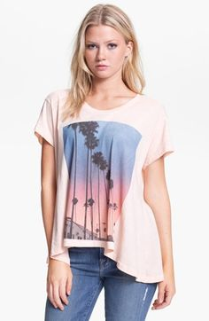 Wildfox 'Canyon Palms' Tee (Nordstrom Exclusive) available at #Nordstrom