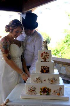 Wedding cake Thun
