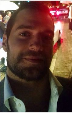 Henry Cavill selfie  #sexybeast