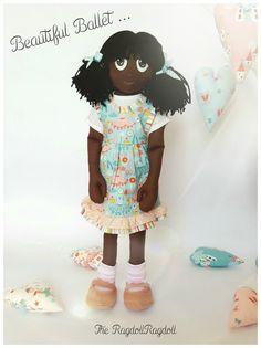Handmade Rag Doll 'Beautiful Ballet' Adorable by TheRagdollRagdoll