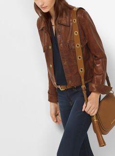 Image result for michael kors 2016 brown jacket