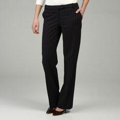 8e3dd736284 Calvin Klein Women s  The Madison  Pinstripe Pants