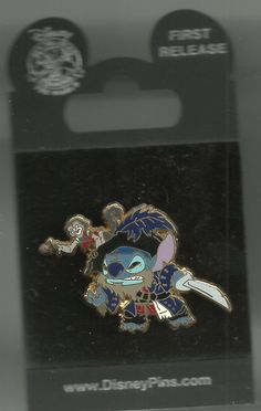 AmazonSmile: Disney Pirates of the Caribbean Stitch Captain Barbossa Exclusive Trading Pin: Clothing