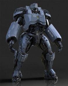 Heavy exoskeleton by Christophe LACAUX | Robotic/Cyborg | 3D | CGSociety