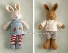 little cotton rabbits.  Beautiful blog.