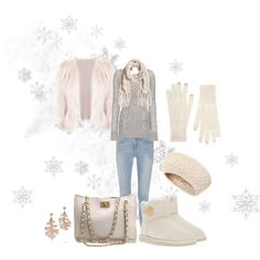 """""""Pretty In Winter"""" by reia73 on Polyvore Winter, cute winter outfit, cold, Christmas, snow, seasonal"""