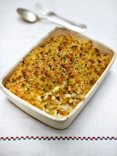 Jamie's vegan mac and cheese is a great comfort food recipe for vegans ...