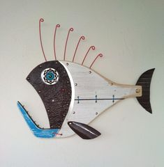 15 Unbelievable Fishing Reels Double Bearing Fishing Reel On Sale Clearance Fish Wall Art, Fish Art, Steampunk Theme, Beach Signs Wooden, Coral Design, Wooden Fish, Fish Sculpture, Fishing Reels, Fishing Tackle