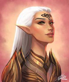 f High Elf Druid Med Armor portrait Deciduous forest Community lg Elf Characters, Dungeons And Dragons Characters, Fantasy Characters, Fantasy Races, Fantasy Rpg, Fantasy Artwork, Fantasy Character Design, Character Inspiration, Character Art