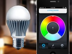Smartphone controlled light bulb that lasts 25 years getting big support on Kickstarter.