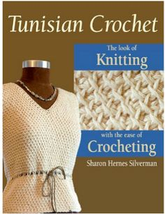 Tunisan-Crochet-Look-Knitting-Crochet.  May have to check into this. I like the look.
