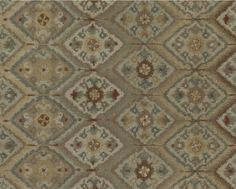 The look of vintage Turkish tiles softens in a global floral design of soothing neutrals, soft blue and tracings of terracotta.  Décor-friendly rug is handcrafted of soft 100% wool. Handcrafted100% woolCotton-latex backingBlot spills immediatelyProfessional cleaning recommendedRug pad recommendedMade in India.