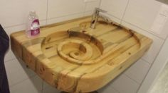 Holzwaschbecken Wood sink