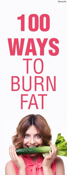Little changes will make a noticeable difference over time when you're losing weight and taking charge of your health. We're sharing 100 ways to burn fat fast to help you make those little changes that turn into big changes. #burnfat #loseweig