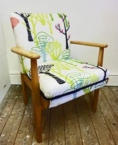 Parker knoll armchair in designers guild fabric http://www.etsy.com/listing/91246690/central-park-armchair