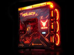 All pictures, details and updates of this build by mayhem_modz posted on builds. Gaming Pc Build, Computer Build, Gaming Pcs, Computer Setup, Gaming Room Setup, Pc Setup, Custom Computer Case, Cheap Gaming Laptop, High End Gaming Pc