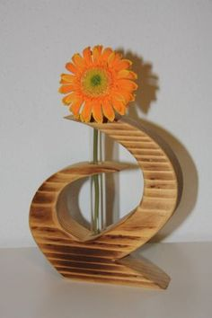This beautiful wooden vase was made of a spruce wood. Carefully sawed out with the scroll saw edges rounded off Wooden Art, Wooden Decor, Bamboo Crafts, Diy Plant Stand, Wood Vase, Scroll Saw Patterns, Wood Gifts, Diy Crafts To Sell, Woodworking Crafts