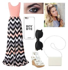 """Summer lovin"" by urobinson on Polyvore featuring Chicnova Fashion, GUESS and Nine West"