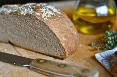 Holy crap!  This gluten free, vegan, xanthan gum free bread looks FANTASTIC.  I'm not one for bread making, but I think I might have to make an exception.