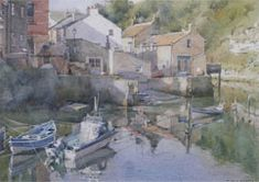 Rising tide Staithes BeckDavid Curtis