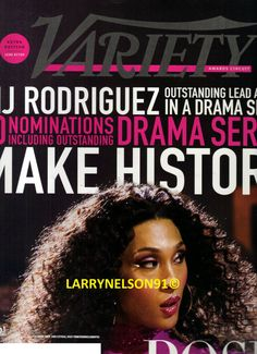 J Rodriguez, Variety Magazine, Cover Pics, Read More, Magazines, Journals