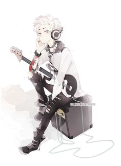 A lot more often. Here is a list of the 20 most common names for boys and girls in anime. Anime Boy Rock Guitar Loaf In 2019 Cute Anime Character T. Cute Anime Character, Character Drawing, Character Design, Cute Anime Boy, Anime Guys, Anime Music, Anime Art, Anime Style, Arte Emo