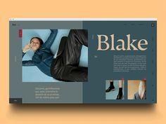 Blake ux ui invitation invite invites animated transition animation gif motion landing page fashion Website Design Inspiration, Website Design Layout, Web Layout, Graphic Design Inspiration, Layout Design, Website Designs, Minimal Web Design, Modern Web Design, Design Web