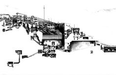 archisketchbook - architecture-sketchbook, a pool of architecture drawings, models and ideas - speakingruins: Tom Reynolds, Section Drawing,...