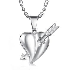 Hot selling Harry Potter's Love Necklace An Arrow through a Heart Necklace GX565