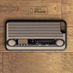 Retro Vintage Radio Phone Case For iPhone 6 Plus For iPhone 6 For iPhone 5/5S For iPhone 4/4S For iPhone 5C-5 Colors Available