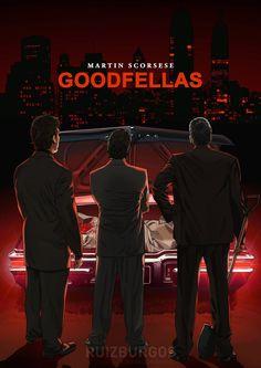 Goodfellas - movie poster - Ruiz Burgos