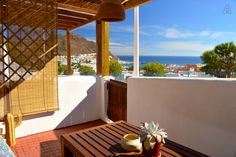 Lovely sea views for couples, to the beach-Wifi - Loft's te Huur in San José, Andalusië, Spanje Pergola, Outdoor Structures, Seaside, Natural Playgrounds, San Jose, Terrace, Beach, Outdoor Pergola