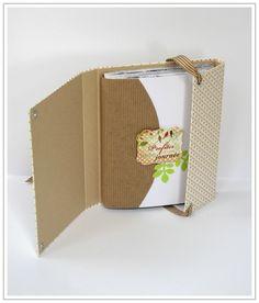 081014 - Mini Balade 5 Mini Album Scrap, Mini Albums Scrapbook, Scrapbook Cover, Scrapbook Paper Crafts, Cute Notebooks, Journals, Scrapbook Designs, Album Book, Handmade Books