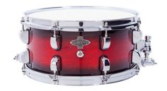 Liberty Drums 14x6.5 Cherry red fade snare drum