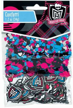 Monster High Confetti | 1.2 Oz.