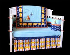 Top 14 Sailboat Bedding Nautical Ideas