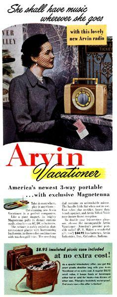 ARVIN RADIO.