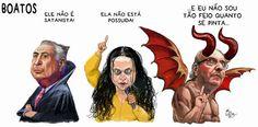 """No ódio simplório que se implantou neste país, um argumento parece bastar. """"Fora Dilma, Fora, Lula, Fora PT"""" foi bradado com um uma """"chave mágica"""" para qualquer coisa. Crise econômica, preço do petróleo, corrupção..."""