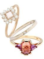 33 Quirky Engagement Rings For Alt Brides #refinery29