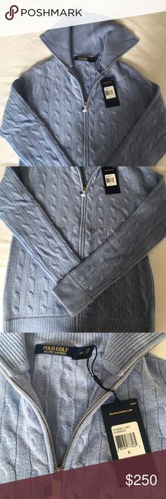 Women's Cashmere Sweater with Zipper 100% Cashmere Sweater with zipper and collar. Never worn - original tags still attached! Ralph Lauren Sweaters Cardigans