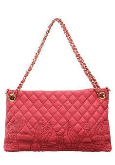 d3eb3ab1aeb8 Baginc Red Square Quilted Shoulder Bag Rose Quilted Shoulder Bags