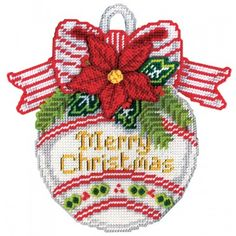 my favorite source for arts and crafts merry christmas ornament plastic canvas kit