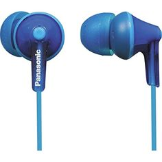 Panasonic RPHJE125Z Wired Earphones Blue -- Continue to the product at the image link. (Note:Amazon affiliate link)