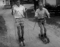 Roller Skiing - how it all began ;)